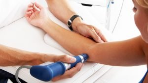 Shockwave Therapy Session